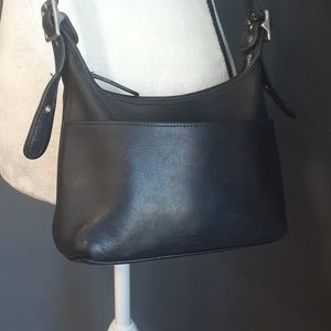 Vtg.Coach black crossbody bag